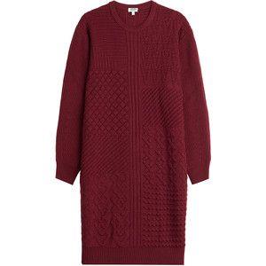 Kenzo Knitted Wool Dress