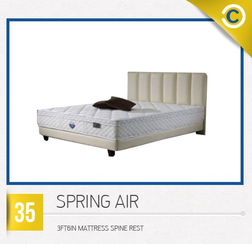 SPRING AIR 3FT 6IN Mattress Spine Rest #MyDreamHome