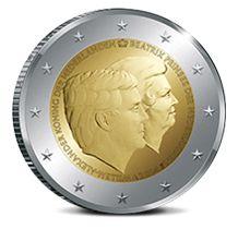 2 euro dubbelportret 2014