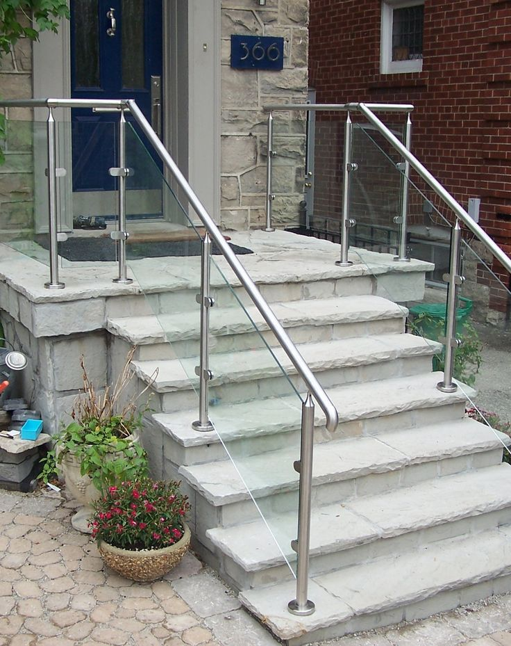 25 Best Ideas About Outdoor Stair Railing On Pinterest Stair And Step Ligh