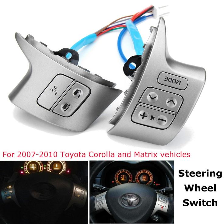 Cheap Car Switches & Relays, Buy Directly from China Suppliers:Bluetooth Steering Wheel Audio Control Button Switch For Toyota Corolla 2007 2008 2009 2010