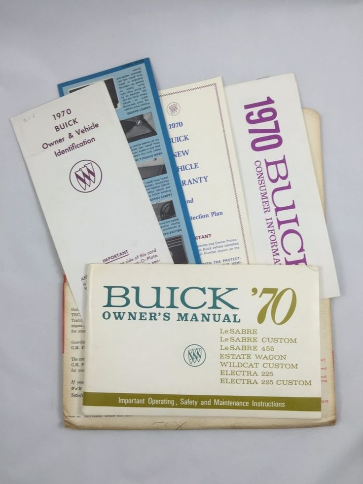 7 best cars owners manual images on pinterest owners manual 1970 buick full size electra 225 lasabre owners manual more factory documents fandeluxe Image collections