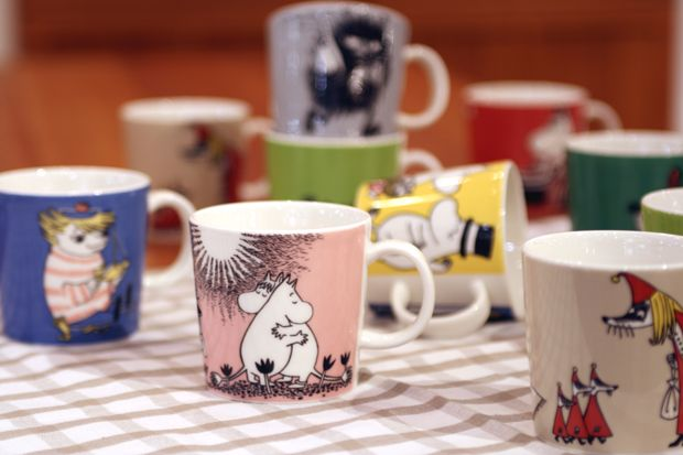 Iittala moomin mugs - Is there ever enough of them?