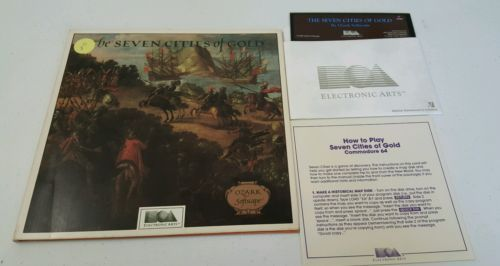 Seven Cities of Gold Commodore 64 Complete   eBay