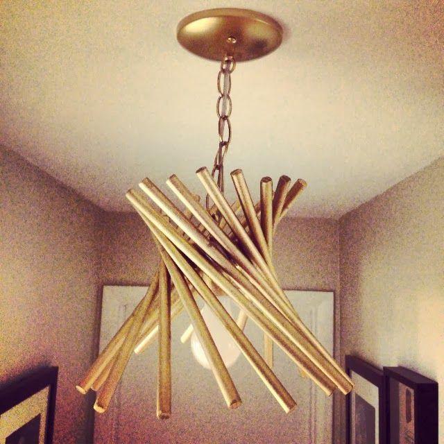 Diy vintage pendant via gorgeous shiny things diy lighting make do pinterest pendant - Diy pendant light fixture ...