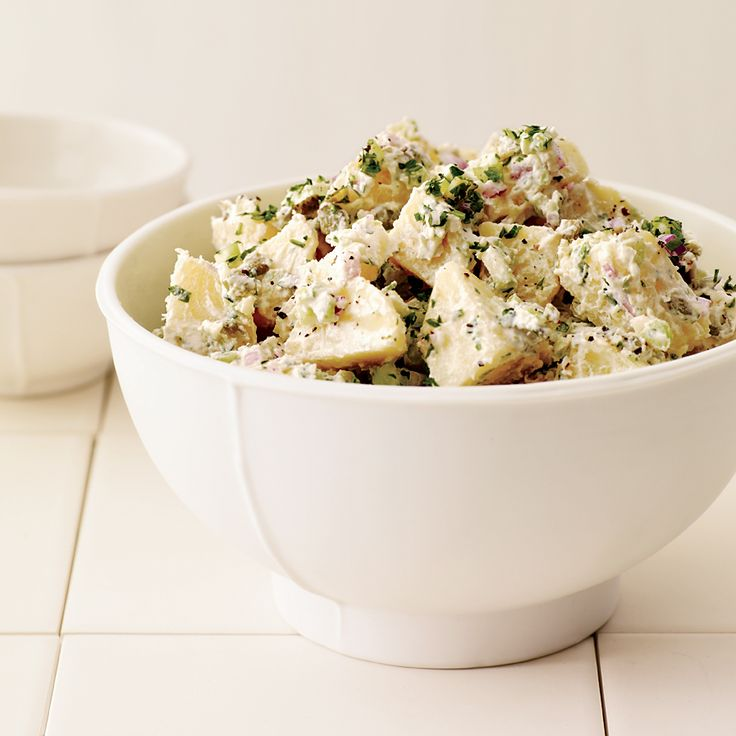 Two Middle Eastern staples make one great dressing.  Recipe Tips from F&W Editors     More Potato Salad Recipes   Great Middle Eastern Rec...