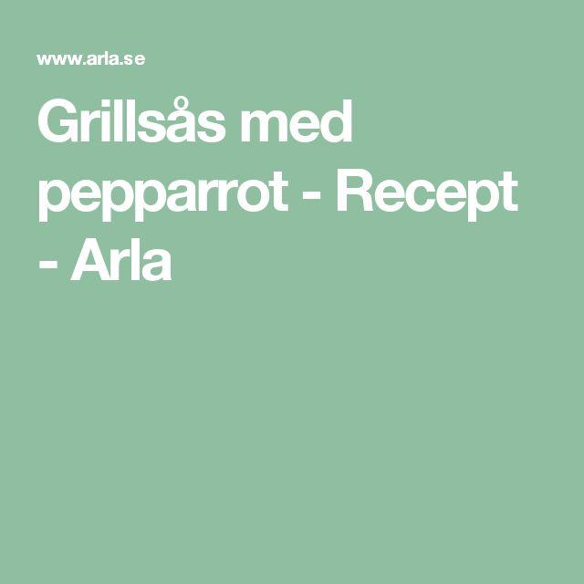 Grillsås med pepparrot - Recept - Arla