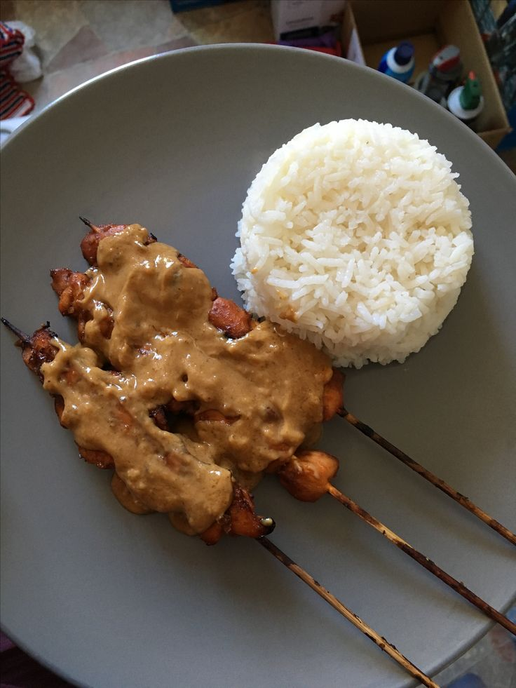 Sate Ayam (Chicken Satay) by Ivan & Me