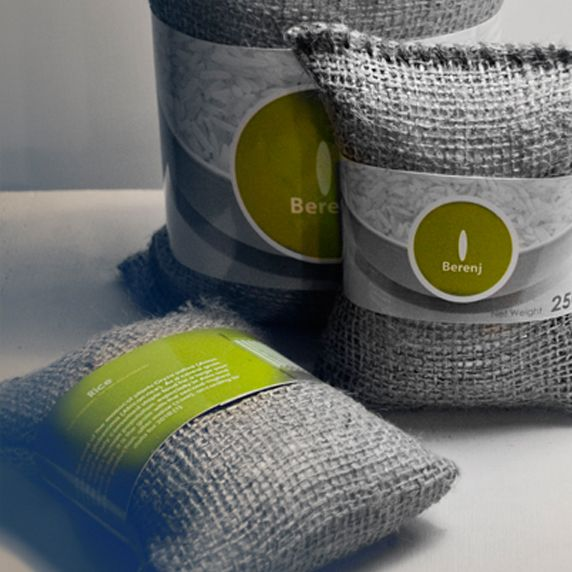 Rice Packaging | 1000 gr and 250 gr | University Project | Prototype Modeling | Product Photography