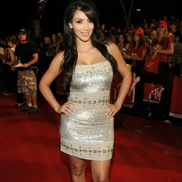 Kim Kardashian in Vintage Love