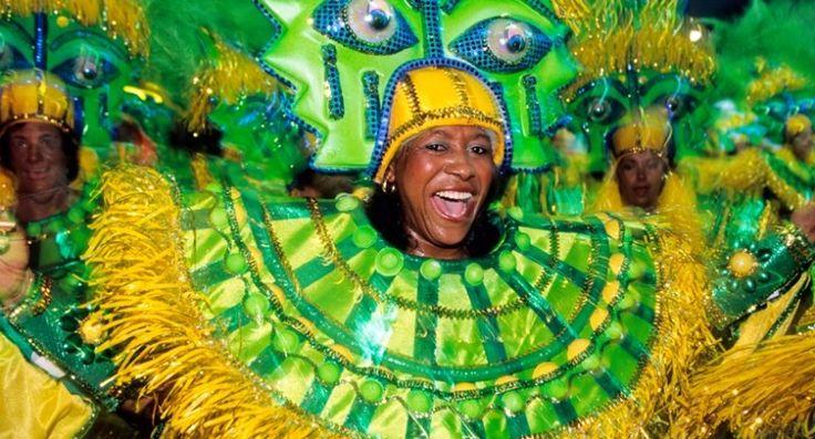 10 fun reasons to visit #Brazil - Rio Carnival