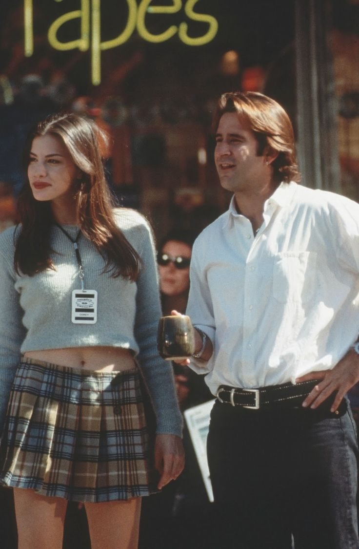 Liv Tyler in empire records.