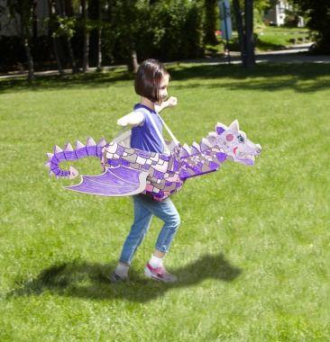 Kid Constructions Inc. Dragon, $25 | Best Toys for Kids - Parenting.com