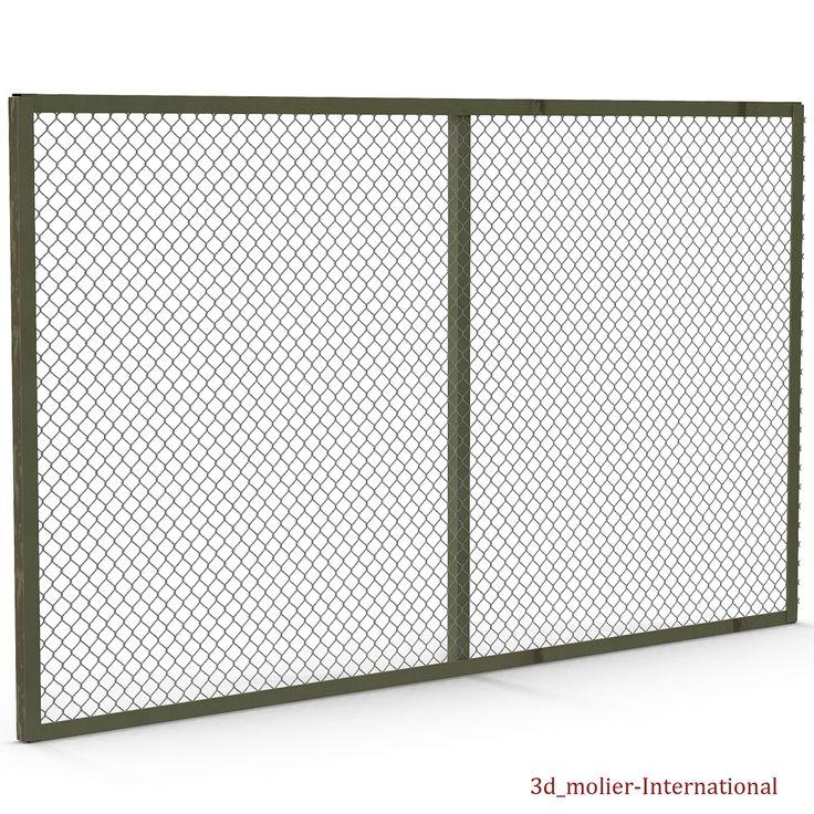 Chain Link Fence 3d model  http://www.turbosquid.com/3d-models/maya-chain-link-fence/914647?referral=3d_molier-International
