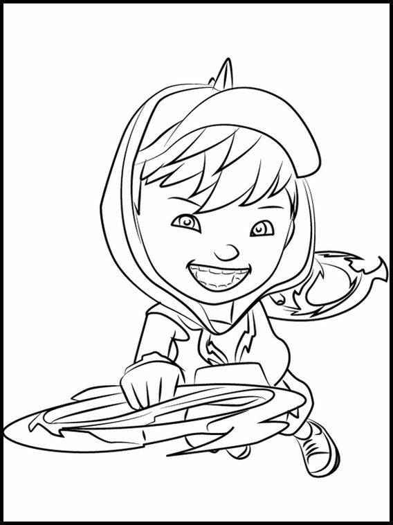Gambar Mewarnai Boboiboy Galaxy : gambar, mewarnai, boboiboy, galaxy, Printable, Coloring, Pages, BoBoiBoy, Cartoon, Pages,, Little