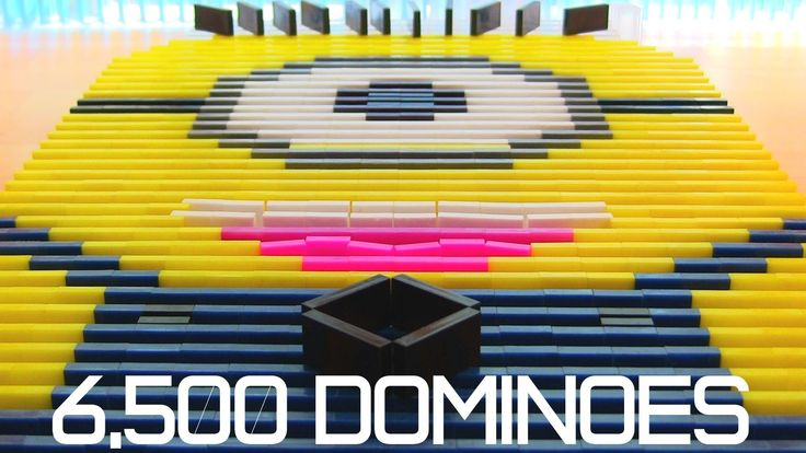 Spectacular Domino Rally Stunt Screen Link Educational - Video dominoes falling reverse simply mesmerizing