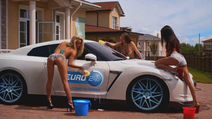 닛산 GTR 섹시 세차 유로247 EURO247