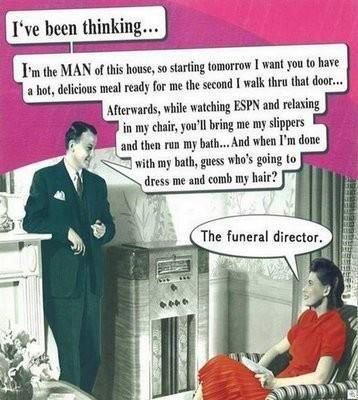 Husband humor