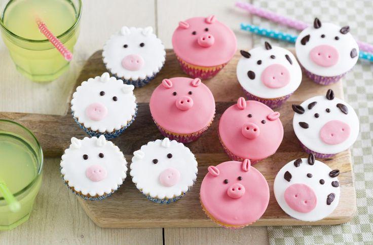 Dieren cupcakes recept | Dr. Oetker