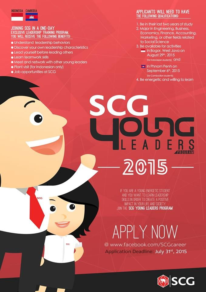 Magang Siam Cement Group SCG Young Leaders Program