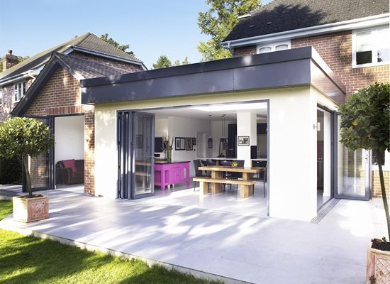 images of commercial one story roof design | Kitchen Extensions | Kitchen Extension Plans & Kitchen Extension Costs