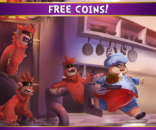Stop monkeying around with those other games and head on over to the Kash Karnival for FREE coins!! https://apps.facebook.com/kashkarnival/?promo=037