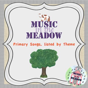 Teachers who like to choose songs to fit into a thematic unit will love our list of hundreds of songs including selections from First Steps in Music by John Feierabend and Game Plan by Kriske and Delelles. Songs that belong in multiple themes are included on all lists that apply.
