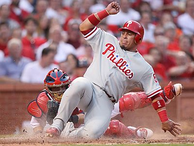 Chooch in; Victorino out