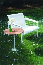 Richard Schultz Petal table with 1966 Lounge Chair