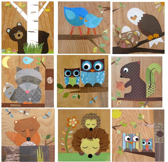 Happy Campers woodland theme