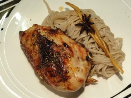 Sichuan Pepper Chicken With Star Anise Honey