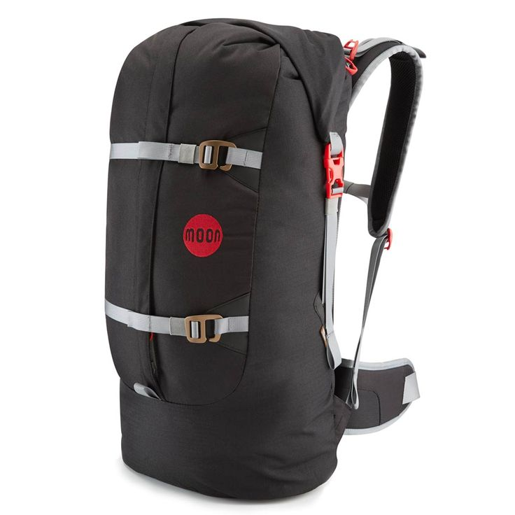 Der Moon Climbing Aerial Pack Kletterrucksack mit innovativer Verschulusstechnik ist ideal zum Verstauen der Kletterausrüstung