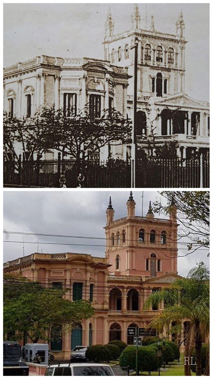 Palacio de López.Antes y ahora