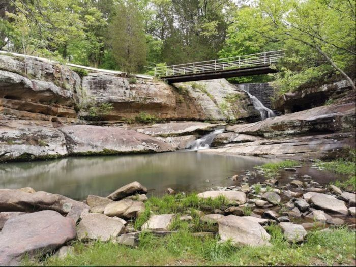 Hiking At Dixon Springs State Park In Illinois Is Like Entering A Fairytale In 2020 Illinois State Parks State Parks Shawnee National Forest