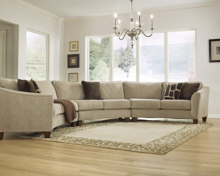 13 Amusing Curved Sectionals Sofas Photo Ideas
