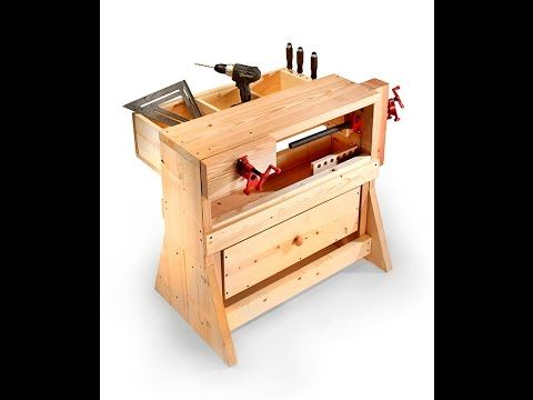 A portable workbench that actually works like a workbench? You bet! In this first of two episodes, Chad builds the upper and lower sections to his portable w...