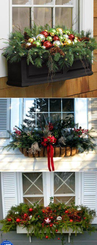 Рождественское украшение окна и балкона. Мастер-класс | Домохозяйка | Новый год и Рождество | Постила