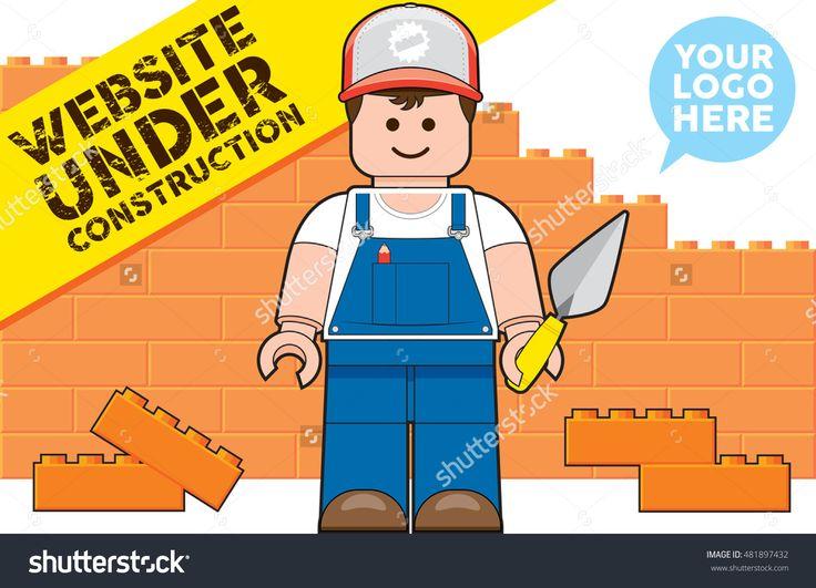 Lego Man Construction Worker