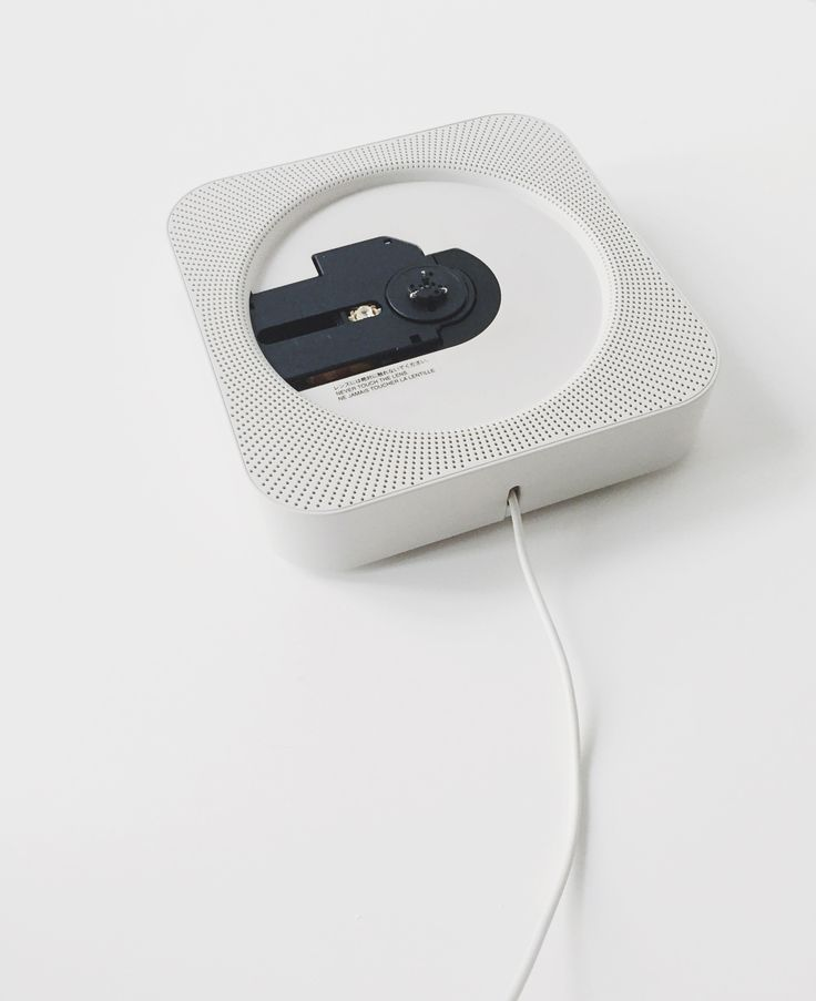 MUJI has many great products, but the object that really stands out is their iconic wall-mounted CD player...