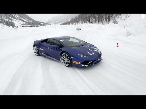 The ultimate ice driving experience: Lamborghini Winter Accademia - YouTube