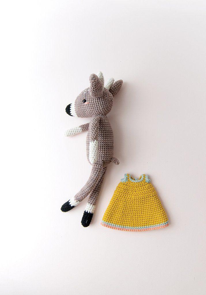 Elena Deer   Amigurumi and Dolls   Crochet, Crochet patterns, Pattern