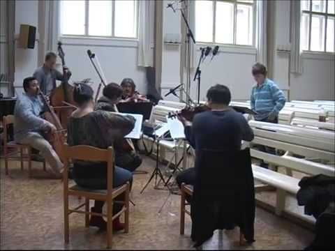 David Cizner rehearsal video, boy soprano sings G F Handel   LASCIA CH´I...