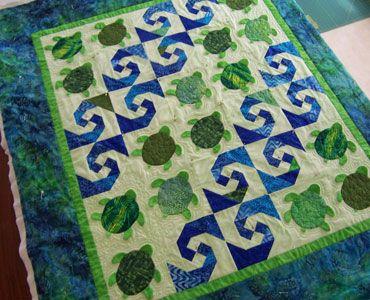 Baby Honu quilt pattern