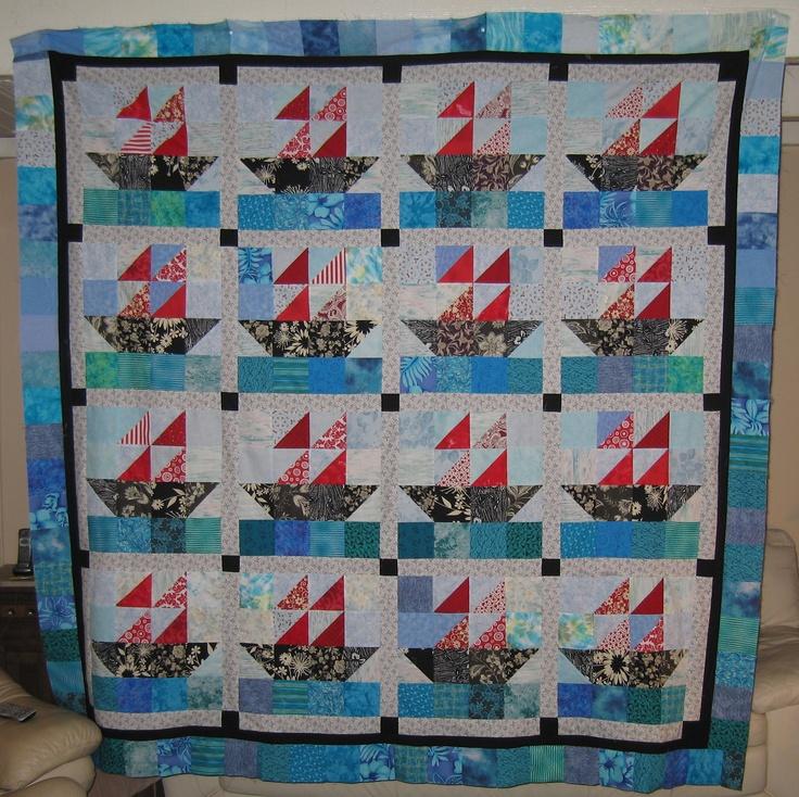 66 best BOAT Quilts... images on Pinterest | Quilt patterns, Boats ... : online quilt magazine - Adamdwight.com