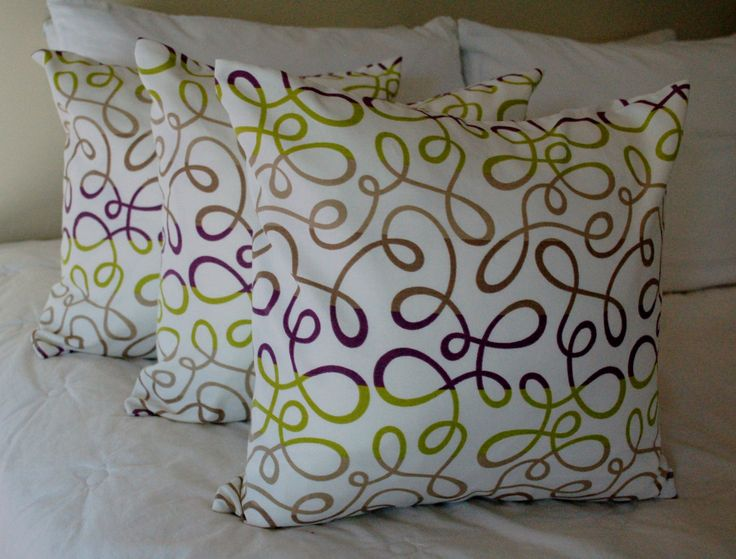 1000+ images about Pillows on Pinterest A line, Green pillows and Pillow covers
