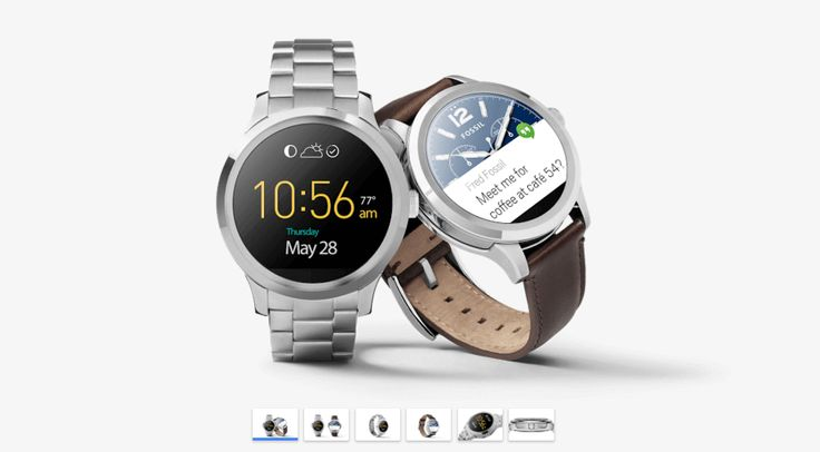 Fossil Q Founder is now on Google Store and will be on sale soon!