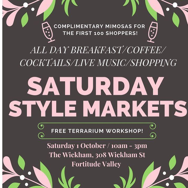 We will be there this Saturday. Looks like a lot of fun.  Try on all our beautiful tribal treasures. Free cocktails on arrival too! 10 am start. See you there