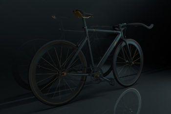 Гениальный дизайн городского велосипеда