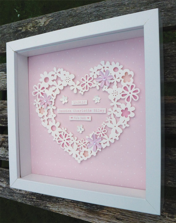 7 best victorias vinyl art images on pinterest vinyl art baby items similar to personalised layered paper cut heart on etsy negle Gallery