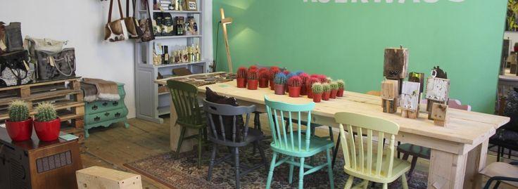 #KOEKWAUS - Een winkel waar ideeën en producten uit het hele land samen komen en inspiratie te koop is. Vughterstraat 107, ´s-Hertogenbosch - #Den Bosch #conceptstore